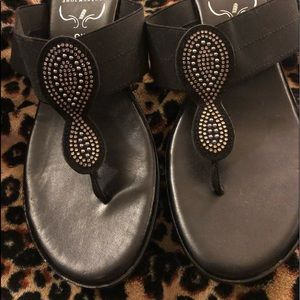 Shoes - Sexy Black Italian made Wedges